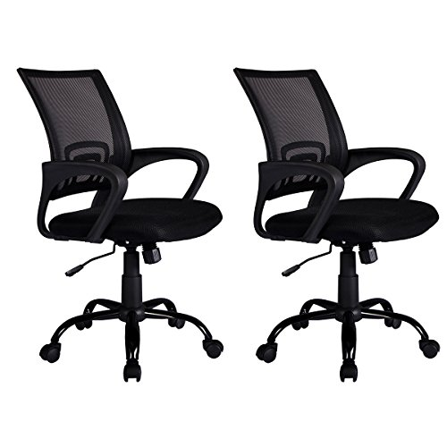 Mid Back Mesh Ergonomic Computer Desk Office Chair,2pack