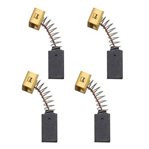 2 pares de cepillos de carbón amoladora angular 596071-00 con corte automático compatible con Black & Decker CD110 CD115 KG900 KG915 AST15