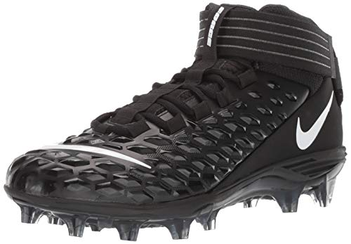 Nike Men's Force Savage Pro 2 Football Cleat Black/White/Anthracite Size 10.5 M US