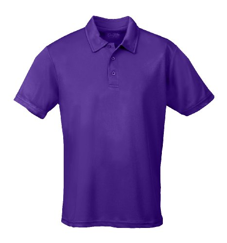 Just Cool - Performance - Performance Polo Shirt, atmungsaktiv, Shirt, atmungsaktiv, XL,Lila