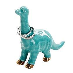 4. Jojuno Ceramic Dinosaur Ring Holder