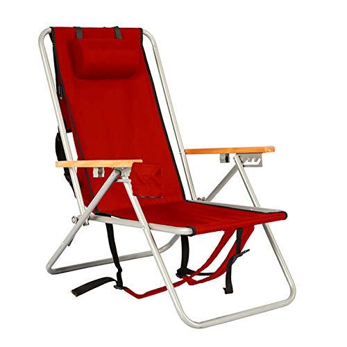 YANFEI Recliners Plegables,Conveniente Cero-Gravedad Playa Tumbona Plegable,Regulable Ergonómica Plegable Tumbona De Jardín,para Oficina Tumbona De Camping-D 31x25x34inch
