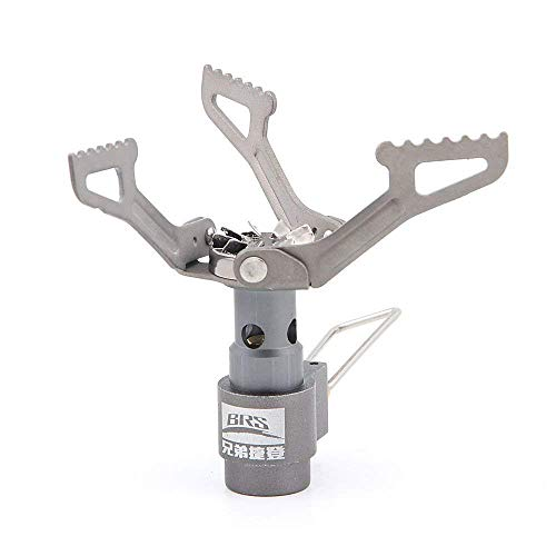 BRS Ultralight Camping Gas Stove Outdoor Gas Burner Cooking Stove Portable Folding Titanium Atove 25g