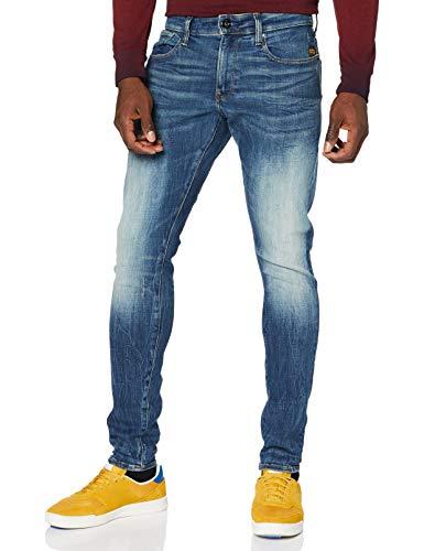G-STAR RAW Revend Skinny Jeans, Antic C051-b817, 32W / 30L para Hombre