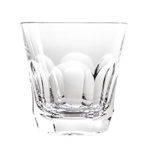 Cristal de Sèvres Chenonceaux Set di Bicchieri Whisky, Vetro, 10x 10x 10cm, 2Pezzi
