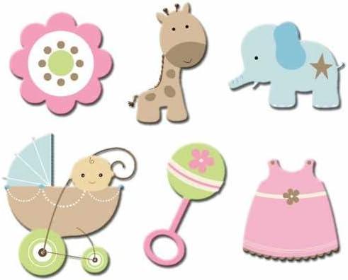 Durham Baby Powder Paper Die Cuts, Animal Crackers