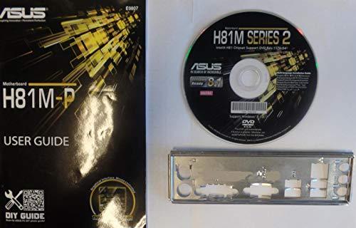 ASUS H81M-P - Handbuch - Blende - Treiber CD