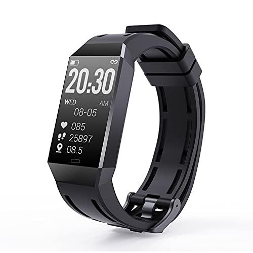 BYTTRON Smartwatch, Pantalla de 1,14 Pulgadas Reloj Inteligente Impermeable IP67 con Pulsómetros para Mujer Hombre, Pulsera Actividad Inteligente Reloj Monitor de Sueño Contador de Caloría Cronógrafo