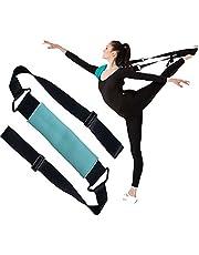 YNXing napinacz nóg balet elastyczna opaska do tańca gimnastyka treningowa pas do tańca baletowego i gimnastyki ćwiczeń treningu domu lub siłowni (niebieski)