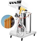 VEVOR Máquina de Recubrimiento en Polvo por Pulverización 220 V 50/60 Hz, Equipo de Recubrimiento en Polvo 220 V, con Sistema de Pintura, Pistola de Pintura Profesional para Electrodomésticos