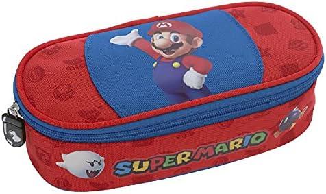 Selezione Varzi dal 1956 Estuche escolar ovalado organizador Super Mario