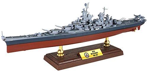 ウォルターソン 1/700 戦艦 ミズーリ 1945 完成品