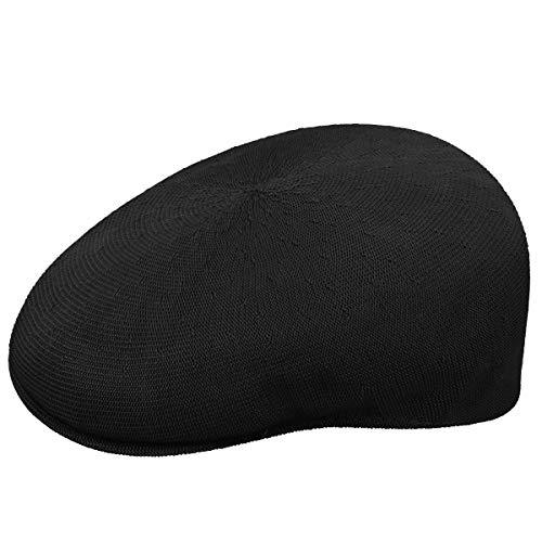 Kangol Headwear Herren Schirmmütze Tropic 504, Gr. Medium (Herstellergröße:Medium), Schwarz