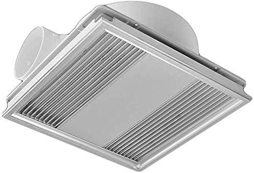 Ventilador de ventilación doméstico 300 * 300 Extractor, Techo Integrado de Alta Potencia de ventilación Ventilador Cocina Baño 60w Silencio Potente LITING