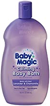 Baby Magic Calming Baby Bath, Lavender and Chamomile, 16.5 Fl Oz, Pack of 6