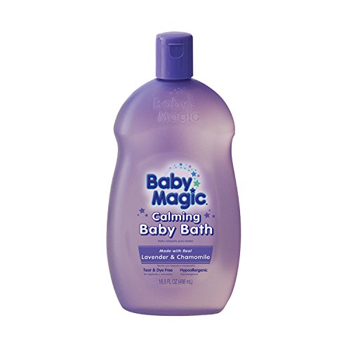 Baby Magic Calming Baby Bath, Lavender and Chamomile, 16.5 Ounces (Pack of 6)