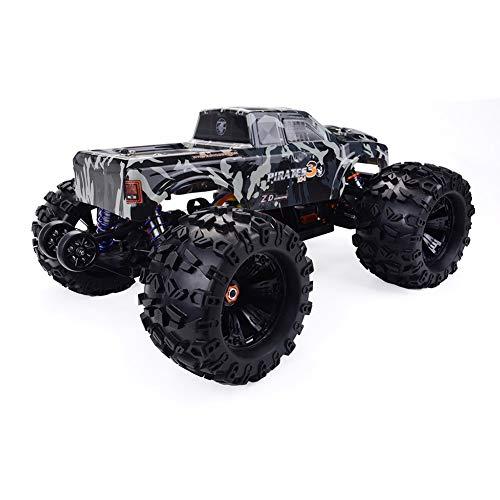 RC Car Kit, 1/8 bürstenloses RC Toy Kit, ZD Racing Camouflage MT8 Pirates3 1/8 4WD 90 km/h bürstenloses RC Car Toy Kit