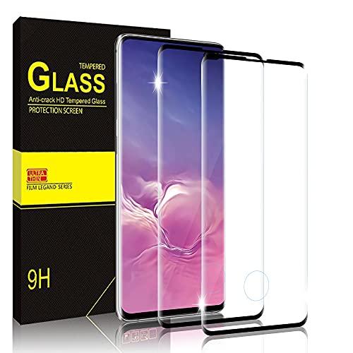 Bodyguard Panzerglas Schutzfolie für Samsung Galaxy S10 Plus [2 Stück] 9H Härte HD Folie, Anti-Kratz, Keine Luftblasen Displayschutz Glas, Displayschutzfolie für Samsung S10 Plus