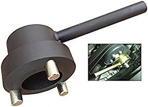 PMD Products Crankshaft Harmonic Balancer Puller Holder is Compatible with Repair and Replace of Mercedes Benz M112 M113 M137 Engines