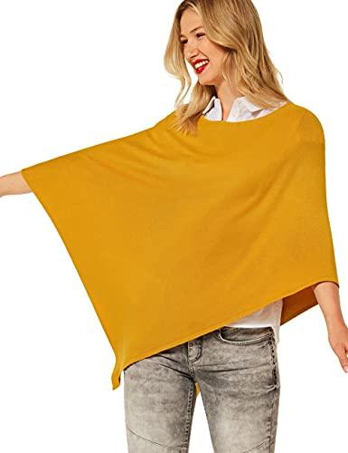 Street One Damen 580609 Poncho, Sulphur Yellow, A