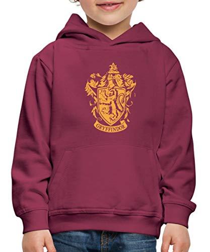 Harry Potter Emblème Gryffindor Pull À Capuche Premium Enfant, 12-14 Ans, Bordeaux