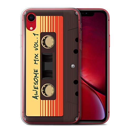Hülle Für Apple iPhone XR Comic Wächter Inspiriert Genial Mix Tape Design Transparent Dünn Flexibel Silikon Gel/TPU Schutz Handyhülle Case