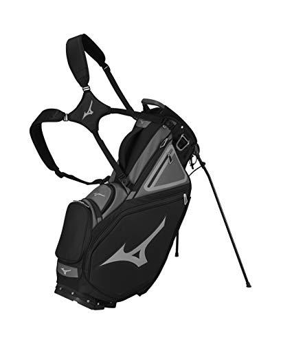 Mizuno Pro 14-Way Stand Bag, Black/Charcoal