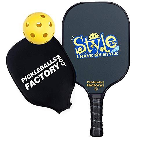 Juego de paletas de Pickleball, Pickleball, Pickleball, Pickleball, Pickleball, Pickleball Paddle, Pickle Ball Game Set, I HAVE MY STYLE Pickleball, Pickle Ball Raqueta Pickle, Pickle Ball Ball Ball