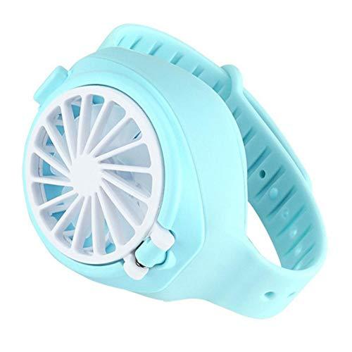BDLeKing Ventilador de Reloj USB portátil, Ventilador de Mano de Mini Ajuste,...