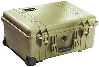 Pelican 1560 Laptop Overnight Case With Foam (OD Green)