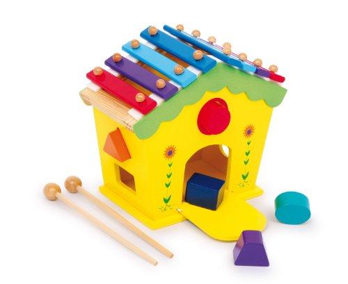 Xylophone et boite à forme en bois, dès 18 mois