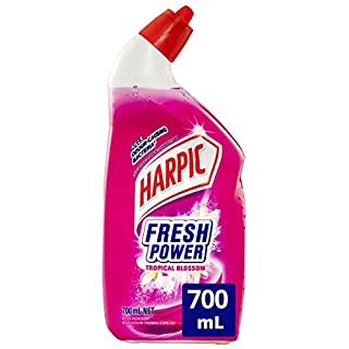 Harpic Fresh Power Liquid Toilet Cleaner Tropical Blossom, 700, Tropical Blossom (B0768JNP28) | Amazon price tracker / tracking, Amazon price history charts, Amazon price watches, Amazon price drop alerts