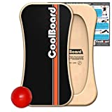 Coolboard Balance Board – The Only True Full 3D/360 Balance Board & Exercise...