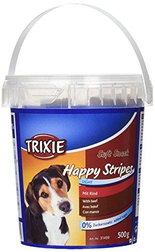 Trixie Barattolo Soft Snack Happy Stripes, 500 g, Vitello
