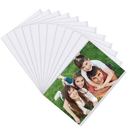 Belle Vous Set Marco de Foto Magnético Transparente para Refrigerador (Pack de 12) Portafotos para Fotos 10 x 15 cm - Marcos para Fotos Collage para Nevera y Superficies de Metal