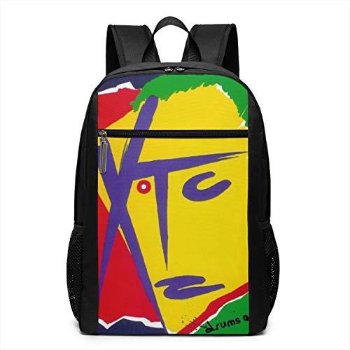 HOLEBUKL XTC Andy Backpack for Women&Men Spiritual College Bookbag Daypacks