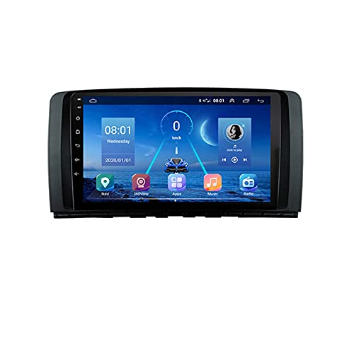 para Mercedes Benz Ml GL Ml350 Gl320 X164 Android 9.0 Coche Carplay 2005-2009 2din 2 DIN Multimedia Player 360 Sony Cámara(Size:Cuatro nucleos,Color:WiFi:4GB+64GB)