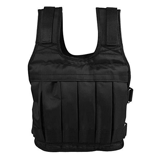 Rosilesi 1 x Gewichtsweste - Oxford Cloth Heavy Duty 50 kg Gewichtsweste Krafttrainingsjacke für Workout Fitness