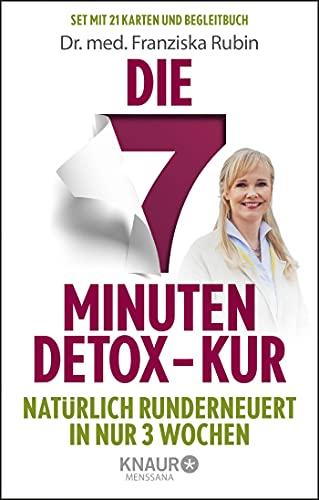 Die 7-Minuten-Detox-Kur: Natürlich runderneuert in nur 3 Wochen. Die Gesundheits-Box mit 21 Karten zum Entschlacken und Wohlfühlen. Inklusive Anleitungsbuch.