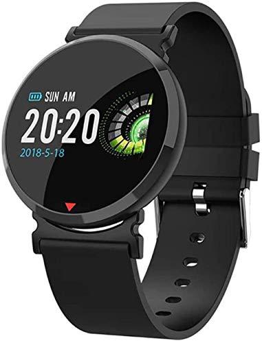 Fitness Smart Watch Hombres Mujeres Salud Podómetro Monitor de ritmo cardíaco Esférico Cristal Bluetooth Ejecución Reloj Deportivo Para IOS Android