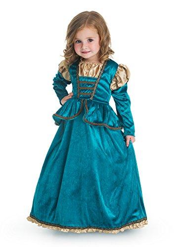 Little Adventures Traditional Scottish Princess Girls Costume – Large (5-7 Yrs)