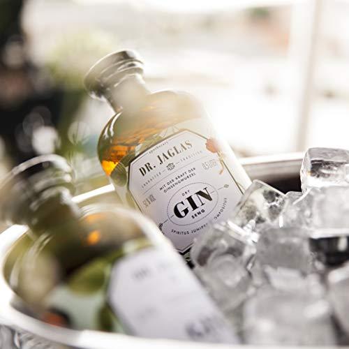 Dr. Jaglas Gin Seng | Wacholderbeer-Spiritus als Einzelflasche mit 500 ml | 50% Vol… - 5