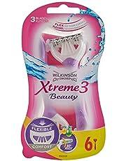 Wilkinson Sword Xtreme 3 Beauty wegwerpmachine dames, 6 stuks