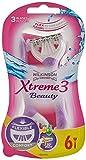 Wilkinson Sword Xtreme 3 Beauty Einwegrasierer Damen, 6 St -