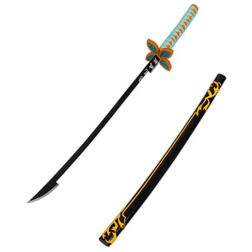79cos Demon Slayer: Kimetsu no Yaiba Cosplay Prop Shinobu Kocho Sword + Sheath