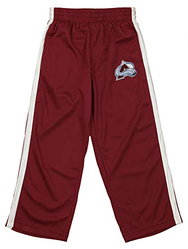 Outerstuff NHL Youth's Dribble Mesh Pants, Colorado Avalanche X-Small (4/5)