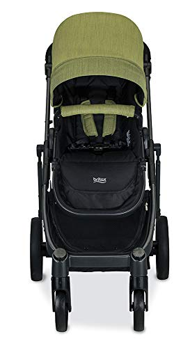 Britax B-Ready G3 Stroller, Pistachio Britax Versatile design, no flat rubber tires, and double seating with the same mobility as a single stroller Quick fold with 1 or 2 seats attached; 12 seating options when paired with the B Ready Bassinet, Britax Infant Car Seats, or B Ready Second Seat (all sold separately) Travel System ready: compatible with all Britax and BOB infant car seats 2