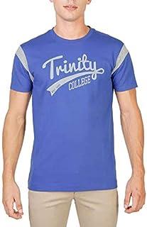 Oxford University Men's TRINITY-VARSITY-MM T-shirt Blue