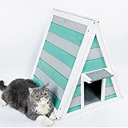 Image: A4Pet Outdoor Weatherproof Cat House/Condo/Shelter