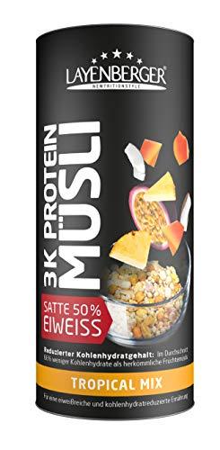 Layenberger 3K Protein Müsli Tropical Mix, 360 g